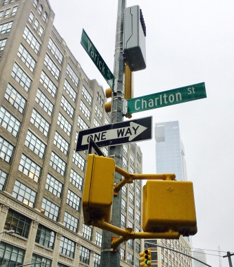NYC Street Sign
